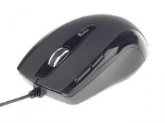 Gembird G-Laser mouse 2400 DPI, USB, black