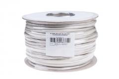 Gembird instaliacinis kabelis vytos poros SFTP, 4x2, kat. 5e, viela 100m, pilkas