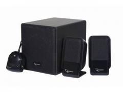 Gembird Multimedia stereo garsiakalbiai 2.1 sistema, 340W, Juodos sp. Audio skaļruņi