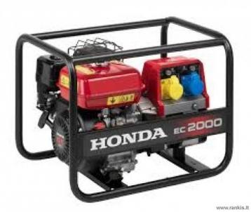 Generatorius Honda EC 2000 Gasoline electric generators
