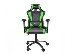 Genesis žaidimų kėdė NITRO 880 Juodai-Žalia Jaunuolio kėdės