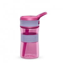 Gertuvė Boddels EEN Drinking bottle Bottle, Lavender blue/Pink, Capacity 0.4 L, Diameter 7.5 cm, Bisphenol A (BPA) free