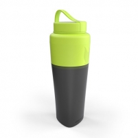 Gertuvė Pack-up Bottle lime Bicycle accessories