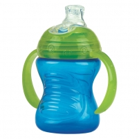 Gertuvė PP twin handle cup 240ml with spout + PP cover Kūdikių maitinimui