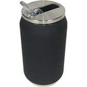 Gertuvė Yoko Design Isotherm Tin Can, juoda Turistiniai indai