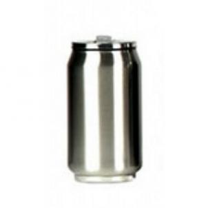 Gertuvė Yoko Design Isotherm Tin Can, sidabrinė