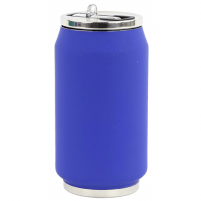Gertuvė Yoko Design Soft Touch 1713 Isotherm tin can, Night blue, Capacity 0.28 L
