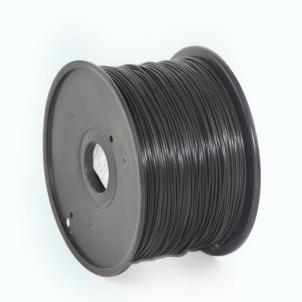 Gija Filament Gembird PLA Black | 1,75mm | 1kg 3D spausdintuvai