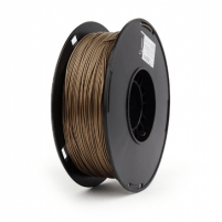 Gija Flashforge Metal Filling Composition PLA Filament 1.75 mm diameter, 1kg/spool, Brass 3D spausdintuvai