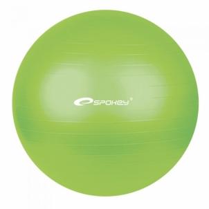 Gimnastikos kamuolys FITBALL žalias 55 cm Mankštos kamuoliai