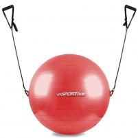 Gimnastikos kamuolys inSPORTline 75 cm, su rankenomis Mankštos kamuoliai