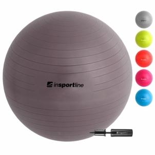 Gimnastikos kamuolys inSPORTline Top Ball 65 cm pilkas Mankštos kamuoliai