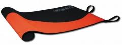 Gimnastikos kilimėlis Sveltus WAVE MAT juodas/oranžinis