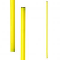 Gimnastikos lazdos METEOR 100 cm 10 vnt. geltona Priemonės mankštai