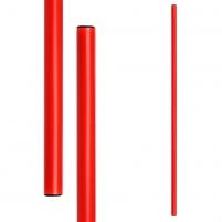 Gimnastikos lazdos METEOR 100 cm 10 vnt. raudona Priemonės mankštai