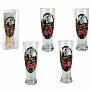 Gimtadienio alaus bokalas ,,Happy Birthday Beer