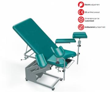 Ginekologinė kėdė TN-GCE-2, dviejų dalių, elektrinė Ginekologinės kėdės