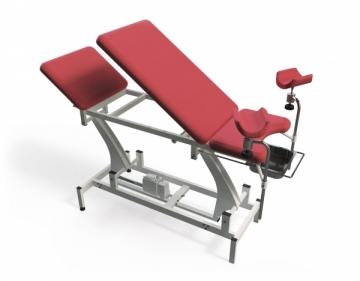 Ginekologinė kėdė TN-GCE-3, trijų dalių, elektrinė Ginekologinės kėdės