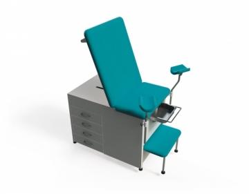 Ginekologinė kėdė TN-TBGC, dviejų dalių Ginekologinės kėdės