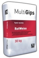 Gypsum plaster MultiGips RotWeiss 30kg Simple plaster blends
