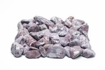 Gludinti akmenukai, raudoni, 20kg Dekoratyviniai akmenys, skalda