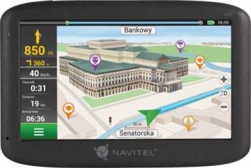GPS navigacija - automobiliams NAVIGATION NAVITEL F150 5 PL+CZE+SVK+BLR+UKR (LIFEIME MAP) Aft. Tests GPS navigacinė technika