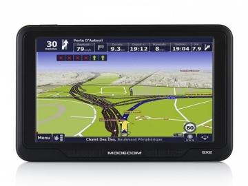 GPS navigacija MODECOM FreeWAY SX2 + MapFactor Europe map GPS navigacinė technika