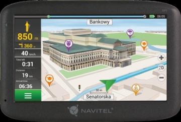 GPS navigacija NAVIGATION NAVITEL E100 5 PL GPS navigacinė technika