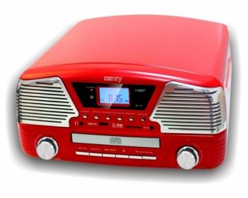 Gramofonas Camry CR 1134 red Muzikiniai centrai, patefonai
