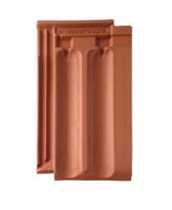 Granat 13V, clay roof tile natural clay