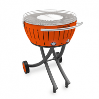 Grilis Lotusgrill G 600 XXL Garden Grill G-OR-600 Charcoal, Diameter 60 cm, Mandarin Orange Grili