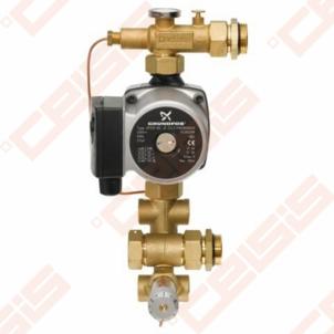 Grindinio šildymo mazgas FHM-C6 (1/-) Kolektorių spintelės