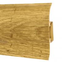 Plinth PVC 518 FLEX SMART Oak andante Skirting (pvc, fiberboard, wood)