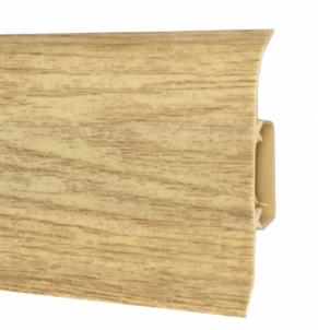 Plinth PVC 521 FLEX SMART Antique oak Skirting (pvc, fiberboard, wood)