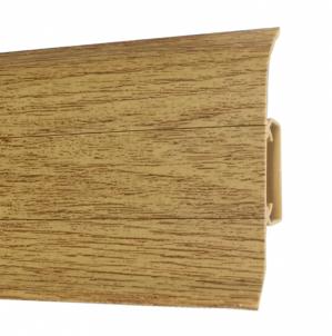 Plinth PVC 530 FLEX SMART oak Arizona Skirting (pvc, fiberboard, wood)