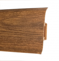 Grindjuostė PVC 533 FLEX SMART ąžuolas degintas Grindjuostės (PVC, MPP, medžio)