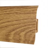 Plinth PVC 543 FLEX SMART oak baron Skirting (pvc, fiberboard, wood)