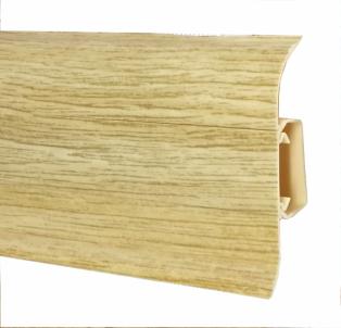 Plinth PVC 585 FLEX SMART oak Kaliforija Skirting (pvc, fiberboard, wood)