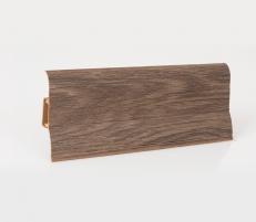 Plinth PVC LP-60 Oak japis (204) Skirting (pvc, fiberboard, wood)