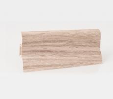 Plinth PVC LP-60 Satin oak  (201) Skirting (pvc, fiberboard, wood)