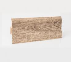 Plinth PVC LP-60 Spinel oak (205) Skirting (pvc, fiberboard, wood)