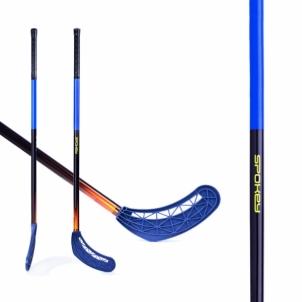 Grindų riedulio lazda AVID II, mėlyna Zāles hokeja nūjas