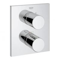 Grohetherm 3000 Cosmo kampuota įmontuojama vonios termostato dekoratyvinė dalis, chromas