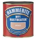 Gruntas No.1 Rustbeater tamsiai rudas 0,5 ltr. Praimeri