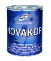 Gruntas NOVAKOR antikor. pilkas 10L Praimeri
