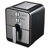 Gruzdintuvė Camry Air fryer CR 6306 Black/ stainless steel, 1500 W, 2.4 L Tosteri, fritieri