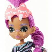 GTH02 / GTH00 Mattel Doll Cave Club Pajamas Party. Roaralai