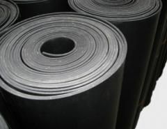 Guma NBR 4mm, 1 tarpinė, Kinija