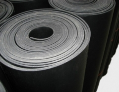 Guma NBR 4mm, 2 tarpinės, EU Rubber (nbr) on petroleum products