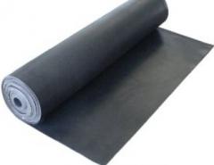 Guma SBR 2mm,1 tarpinė, EU Ūdensnecaurlaidīgs gumijas (sbr)